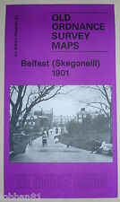 OLD ORDNANCE SURVEY MAP BELFAST SKEGONEILL CO. ANTRIM 1901 S61.01