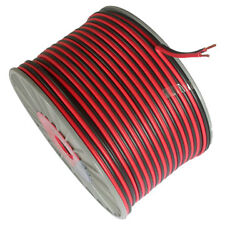 100mts 2 CORE RED AND BLACK 12 VOLT CABLE 6 AMP CAR AUTO BOAT OR SPEAKER WIRE