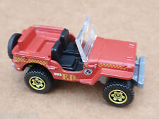 2013 Matchbox 43 JEEP WILLYS 19/120 MBX Explorers LOOSE Red
