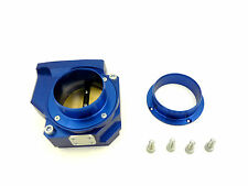 OBX Throttle Body Fits For Mitsubishi Evo X 2pcs Blue Color