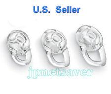 1 Set (S/M/L) Clear Earbuds - Plantronics M-100, Discovery 975 925, Modus HM3500