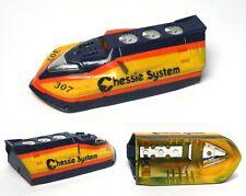 RARE 1990 TYCO CHESSIE SYSTEM TURBO TRAIN HO Slot Car FRONT ENGINE BODY 7501 Set