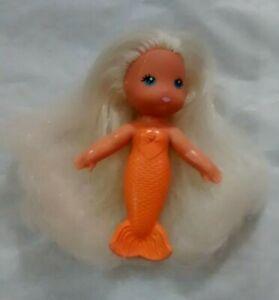 Sea Wees Flora original edition vintage 1980s Kenner mermaid doll