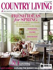 March Country Living Home Magazines