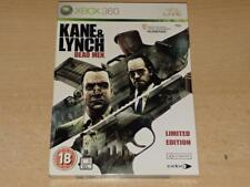 Kane & Lynch Dead Men Xbox 360 Limited Edition UK PAL