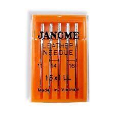 Genuine Janome Leather Needles