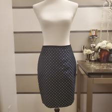 Ann Taylor Petite-Polka Dot Pencil Skirt