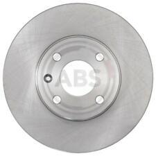 A.B.S. 2x Bremsscheiben belüftet beschichtet 18403