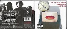 CD + DVD DIGIPACK RED HOT CHILI PEPPERS GREATEST HITS AND VIDEOS 2003 EUROPE
