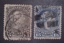 Canada Stamps #29/30 Used