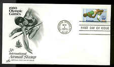 U.S. FDC #C97 Artcraft Cachet Severe #2 Colorado Springs, CO 1980 Olympic Games