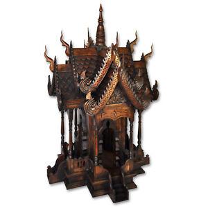 Geisterhaus Thailand  95 cm Geisterhäuschen Feng Shui Chiang Mai San Phra Phum