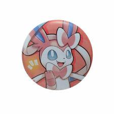 Japanese Pokemon center Pokemon with you Sylveon Tin Can Badge