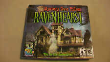 Mystery Case Files: Ravenhearst  (PC, 2007) for windows 2000, XP, Vista