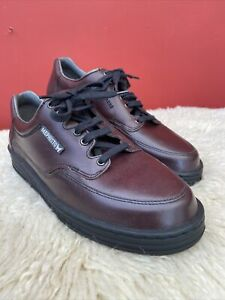 Mens Mephisto Travel's Brown Shoes Air Jet System Uk 7