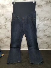 THYME WOMEN'S MATERNITY JEANS LIGHTWEIGHT FLARED SIZE XS #30