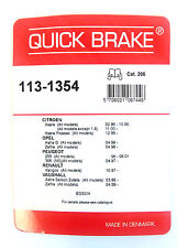 Quick BRAKE 113-1354 Kit para Pastillas de freno BOSCH