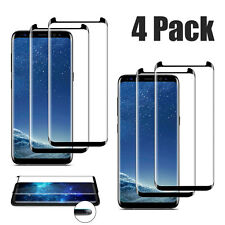 """[4x] For Samsung Galaxy S8 / 5.8""""in Anti-Scratch Tempered Glass Screen Protector"""