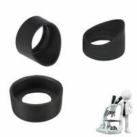 2PCS Eye Guards Binocular Microscope Eyepiece Eye Piece 33-36mm Rubber Eye cups