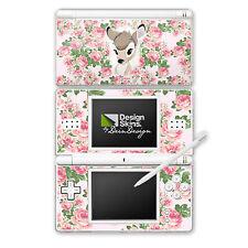 Nintendo DS Lite Folie Aufkleber Skin - Bambi Flower Child