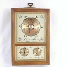 Honeywell Weather Station Barometer Humidity Meter Thermometer Farmhouse Chic
