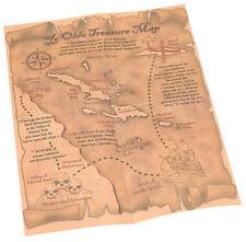 Piratas Mapa Del Tesoro NUEVO - ACCESORIO ACCESORIO CARNAVAL