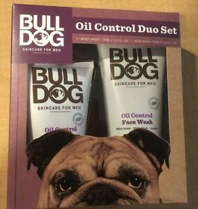 Bulldog Oil Control Face wash & Moisturiser Skincare DUO Set For Men New