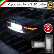COPPIA LUCI TARGA LED PLACCHETTE COMPLETE BMW SERIE 3 E90 E91 E92 E93 CANBUS