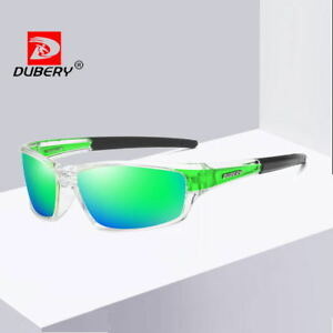 DUBERY Mens Polarized Sport Sunglasses Outdoor Riding Fishing Goggles New 2021