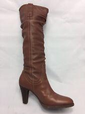 via spiga boots 7.5 Brown 3 In Heel 15 In Shaft 13in Calf