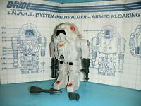 1983 GI Joe Cobra SNAKE Figure Body Battle Armor w/ Blueprints *99% Complete