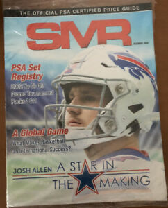 SMR Magazine • Josh Allen • December 2020 PSA Certified Price Guide