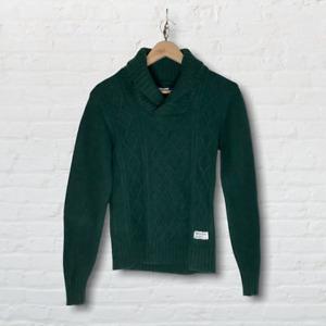 Adidas Originals Green Wool Jumper UK Size Small