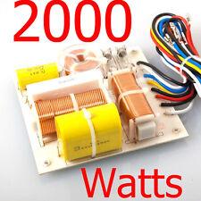 3-Way Speaker Crossover Newtork 2000 Watts WORKS FOR JBL, Peavey, Vega, Pyle