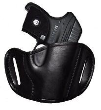 Bulldog Leather OWB Belt Gun Holster For Ruger p-94, p-95, p-97, SR-9, p345