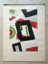 AMERICAN PAINTING NEW YORK MODERNIST GROUP OF THREE (3) WORKS BY GIUSEPPE NAPOLI