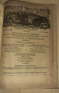 Il giornale delle donne - Rivista diretta da A. Vespucci - Annata completa 1883