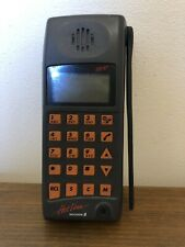 ERICSSON EH97 HOTLINE VINTAGE MOBILE PHONE WITH CHARGER, BATTERIES AND USER MANU