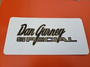 1969 Mercury Cyclone Spoiler Dan Gurney Special License Plate Tag