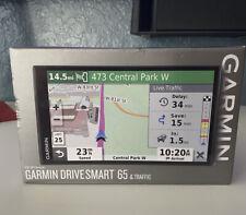 "New ListingGarmin DriveSmart 65 + Traffic 6.95"" Auto Gps Lifetime Mapping 010-02038-02"