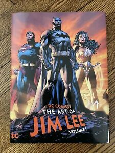 DC Comics The Art of Jim Lee Hardcover Signed