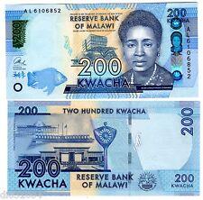 MALAWI Billet 200 KWACHA 2016 PNL NEW NOUVEAU ROSE CHIBAMBO / PARLEMENT NEUF UNC