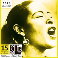 Billie Holiday : 100 Years of Lady Day: 15 Original Albums CD Box Set 10 discs