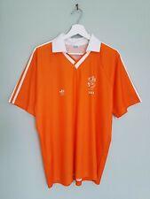 Vintage 1990 World Cup KNVB Netherlands Adidas Football Shirt Jersey Size M/L