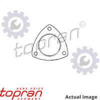 NEW EXHAUST PIPE GASKET FOR OPEL VAUXHALL ASTRA F VAN T92 17 DR C 14 NZ TOPRAN