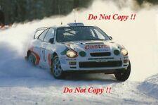 Juha Kankkunen è TOYOTA CELICA GT-FOUR Swedish Rally 1996 fotografia 1