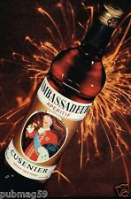Publicité advertising 1974 Vin apéritif Ambassadeur Cusenier