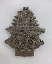 2000 Indianapolis 500 2548 Silver Pit Badge Juan Pablo Montoya Ganassi Racing