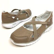 Propet Travellite Women's Mary Jane Flat Loafer Walking Mesh Elastic Sz 9EE EUC
