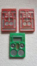 Trix Metallbaukasten Set 1B (1x) und 1 (2x) ungeöffnet ohne Papp-Schachtel